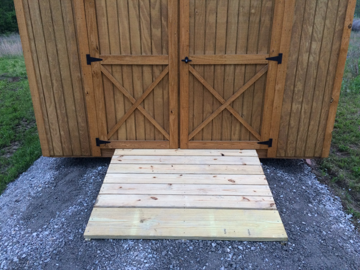How To Build A Shed Ramp Roses And Wrenches