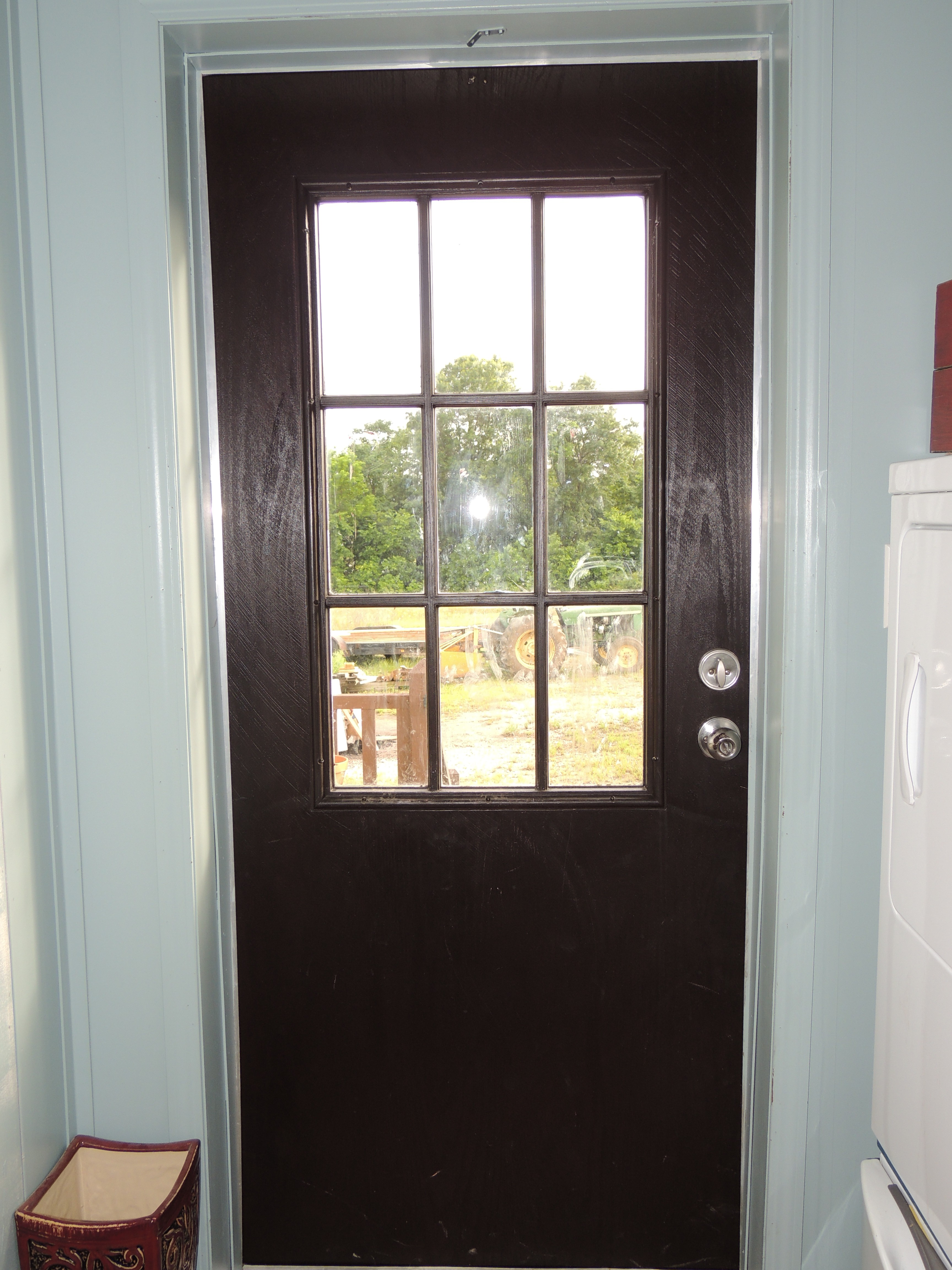 4608 #867D45 Staining Fiberglass Doors Roses And Wrenches image Stainable Fiberglass Entry Doors 40233456