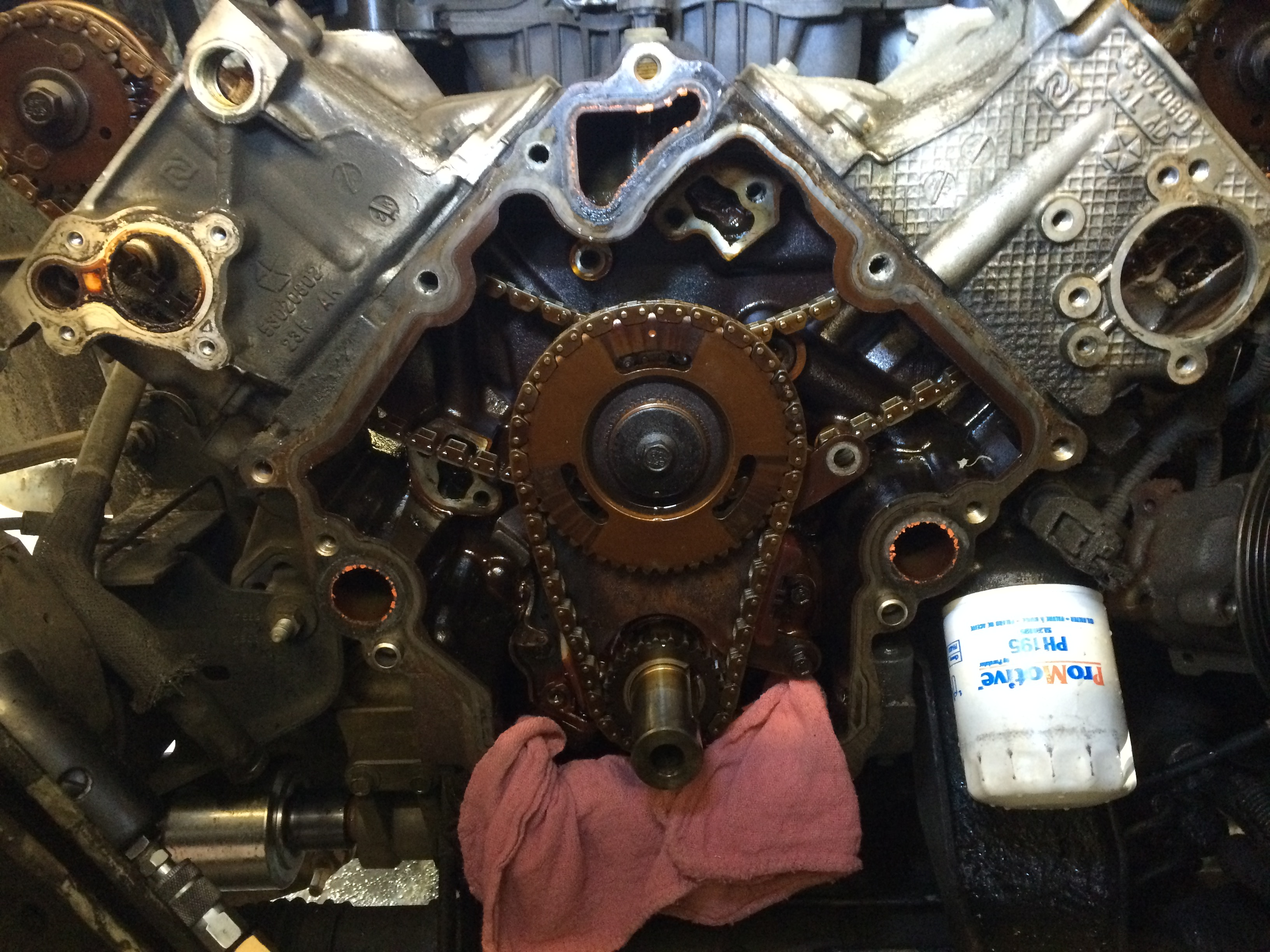 How to replace a 3 7L or 4 7L timing chain(s) and/or