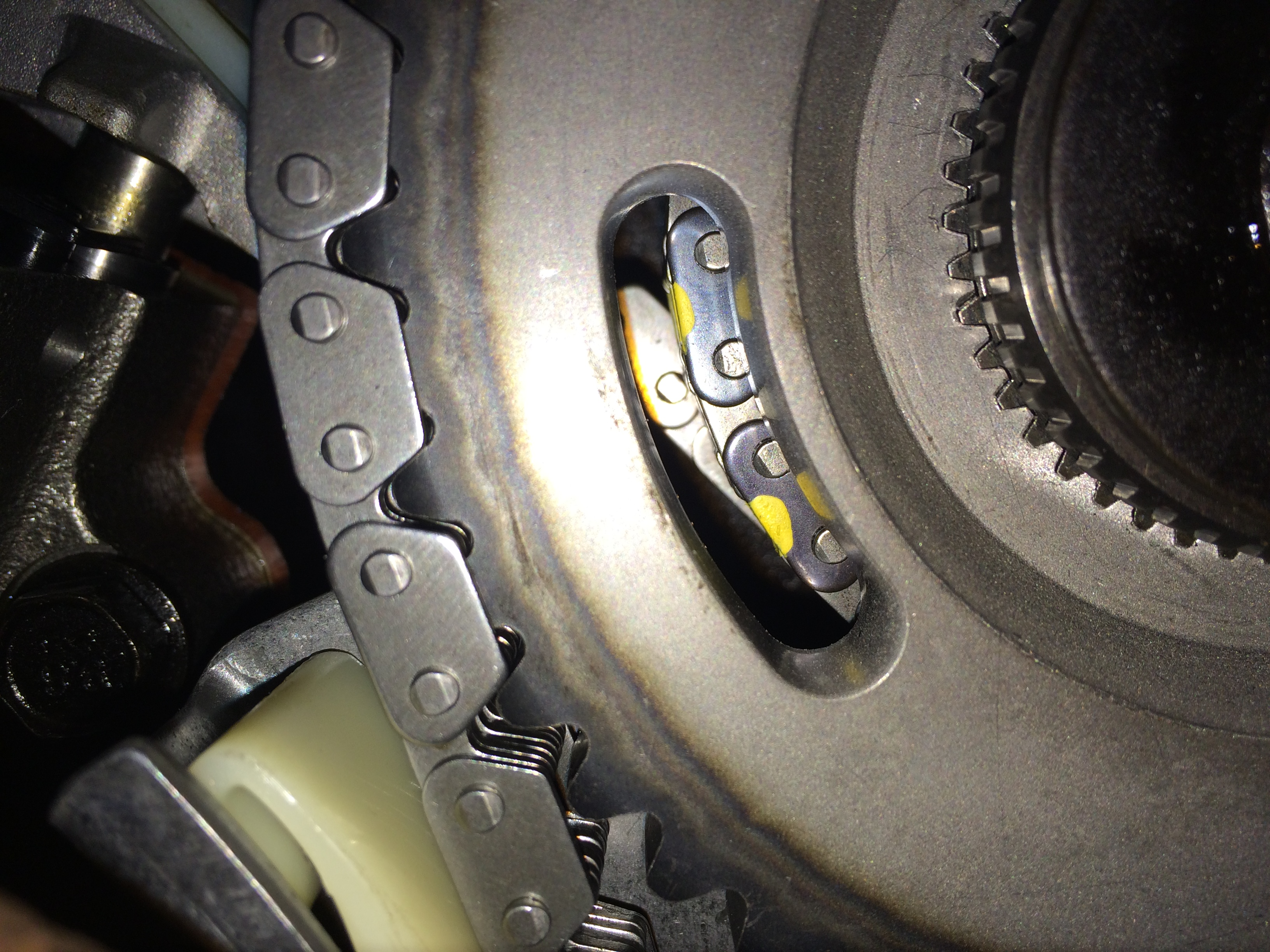 Img on Dodge 4 7 Timing Chain Marks