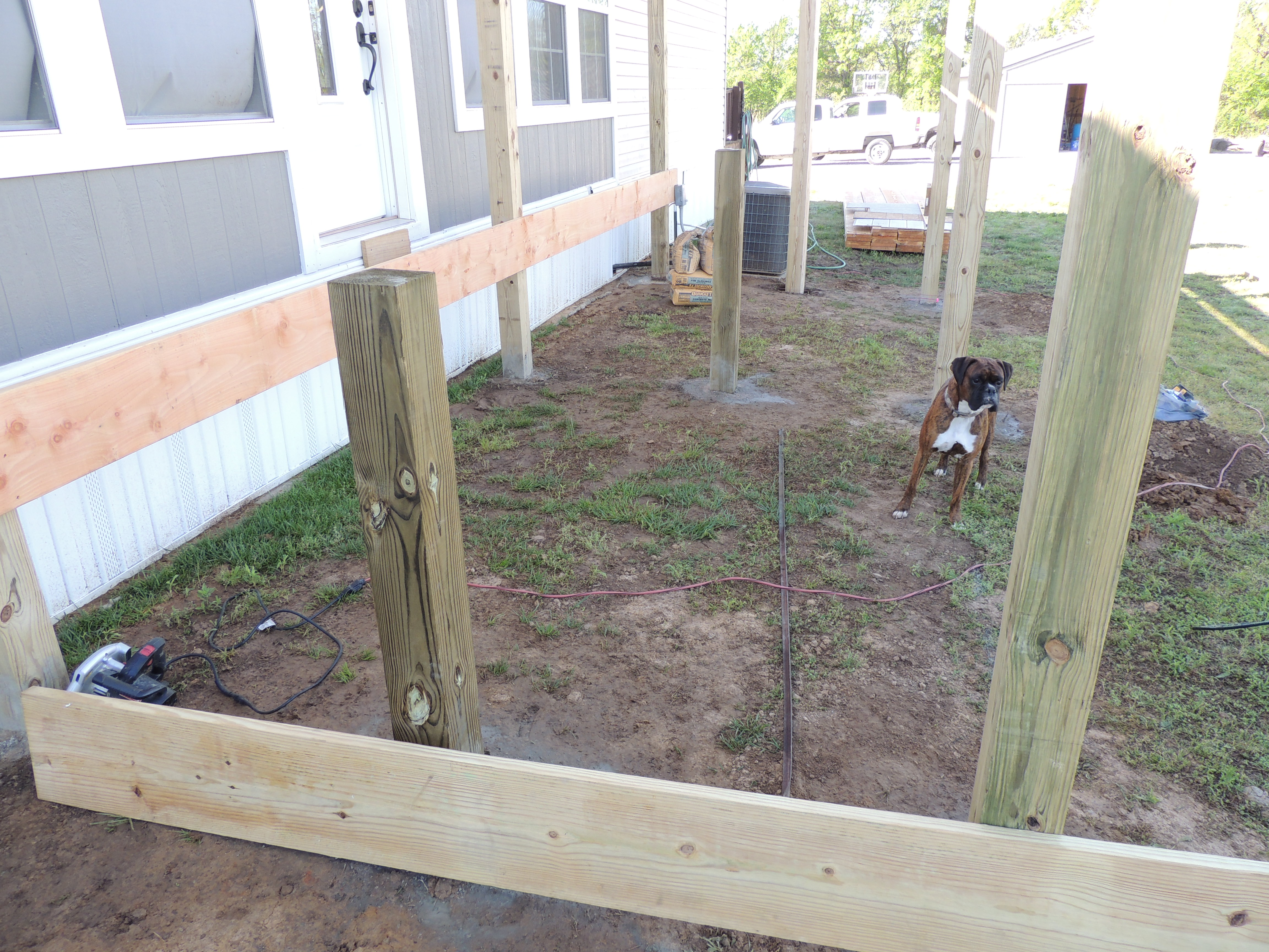 New How to Build A Small Deck