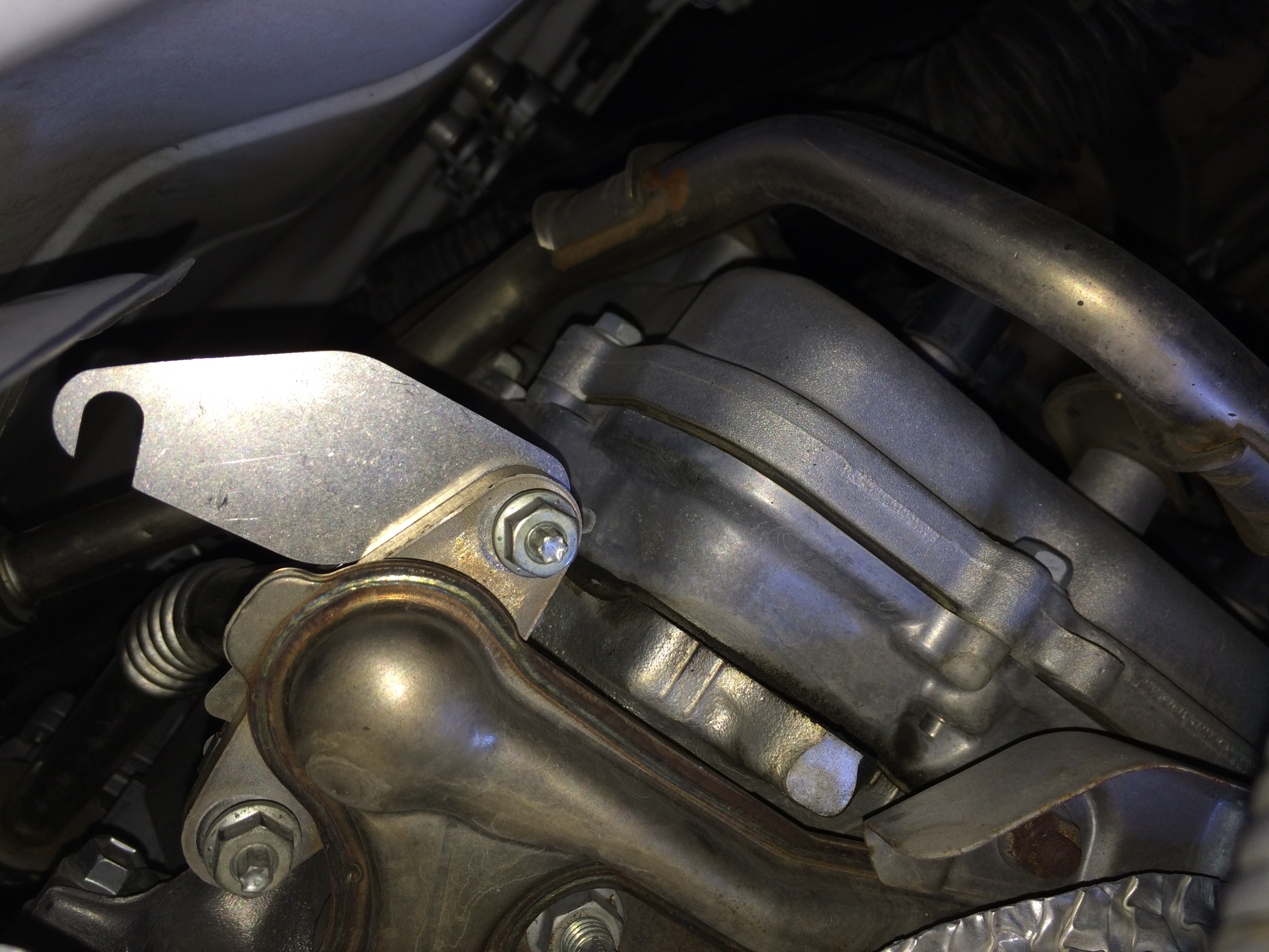 How to bypass the secondary air induction pump system on