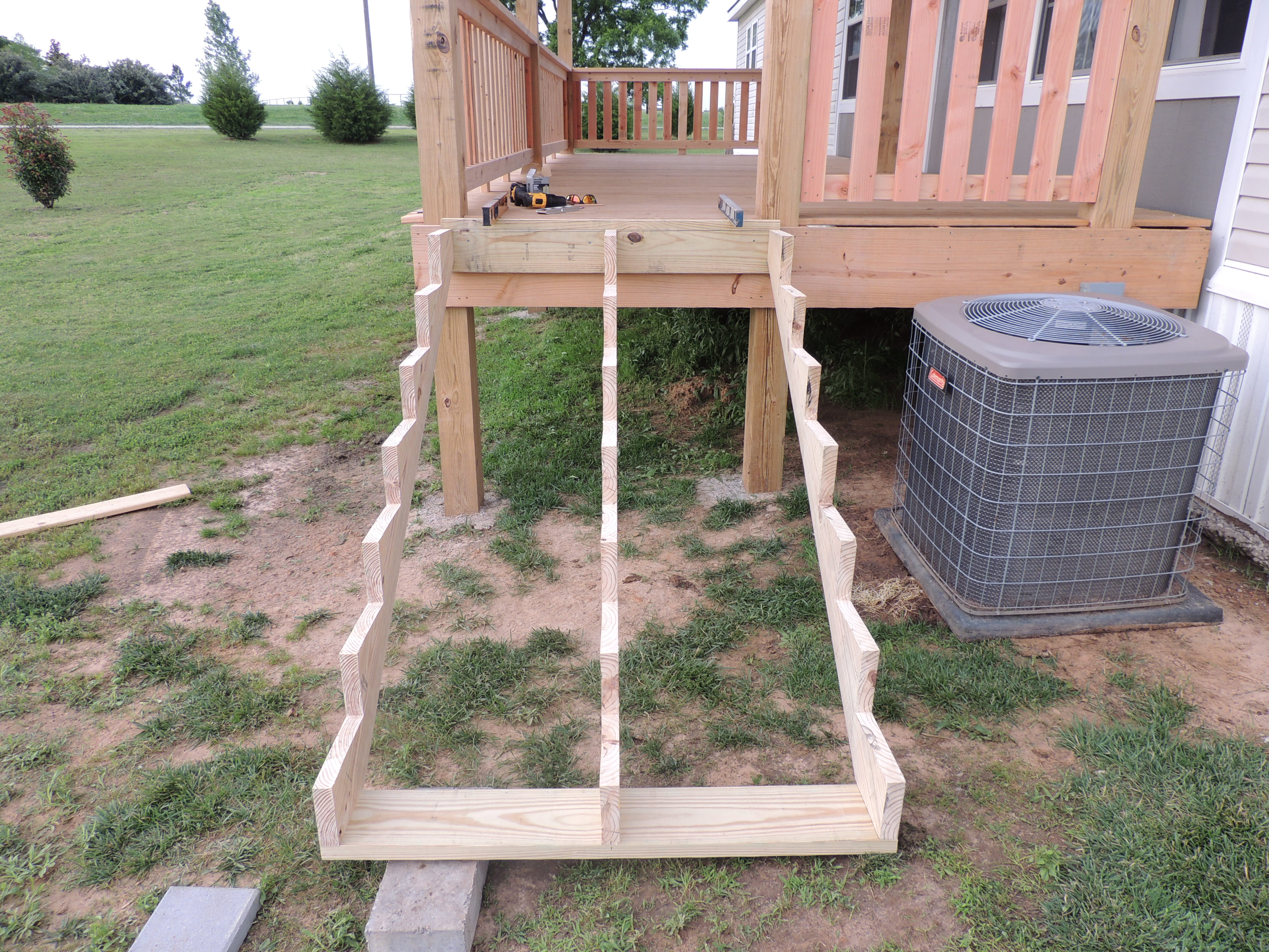 How to Build a Deck or Porch with a Roof…Part 4