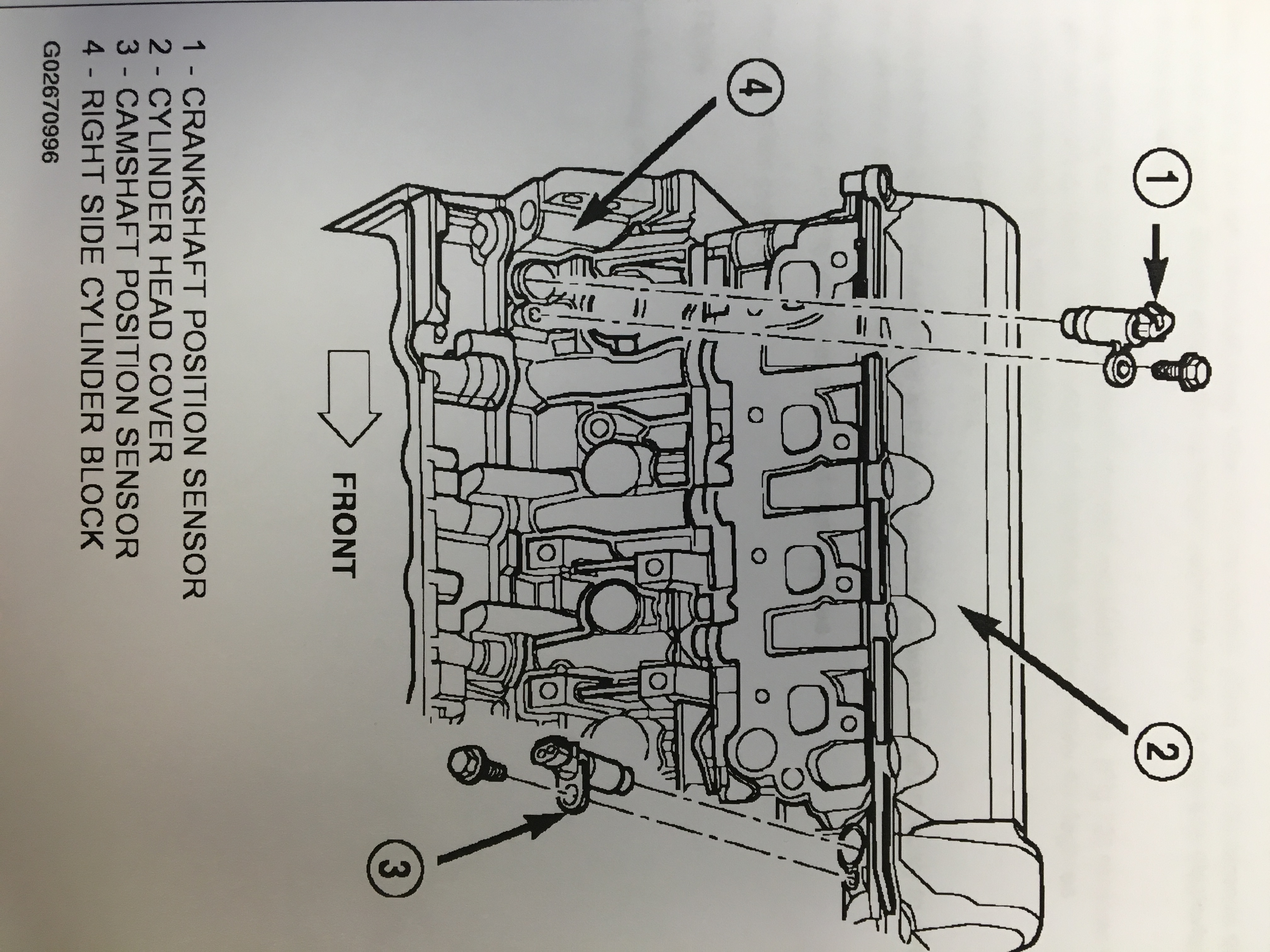 How to replace a 3.7L or 4.7L timing chain(s) and/or ...  Liter Dodge Engine Diagram on